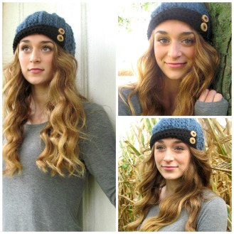 5 Sweet Chickens. FallWinter 2014. Chloe Wearing Ayden Cap