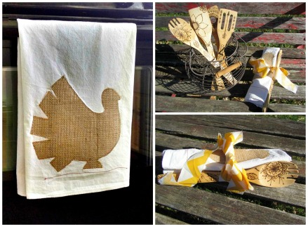 5 Sweet Chickens. FallWinter 2014. Thanksgiving Hostess Gift Collage